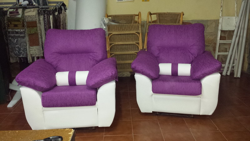 Confecci n de cojines para sof s sillones - Tapiceria para sofas ...