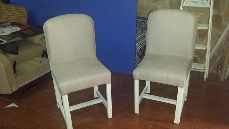 Tapizado de sillas butacas taburetes tapicer a - Tapizado de silla ...