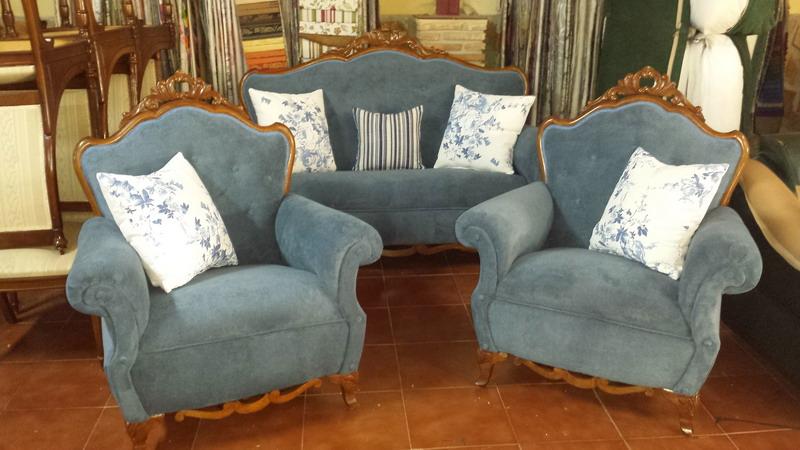 Tapizado de sillones relax m dulos puff tapicer a alba tapiceros huelva - Precios de tapizados de sillones ...