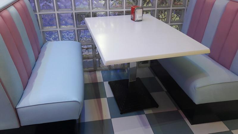 Restaurante jenny vintage carrefour beda tapizado de mobiliario tapicer a alba - Cabecero polipiel carrefour ...