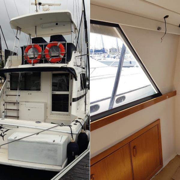 Tapizado integral de barco en Puerto Sherry