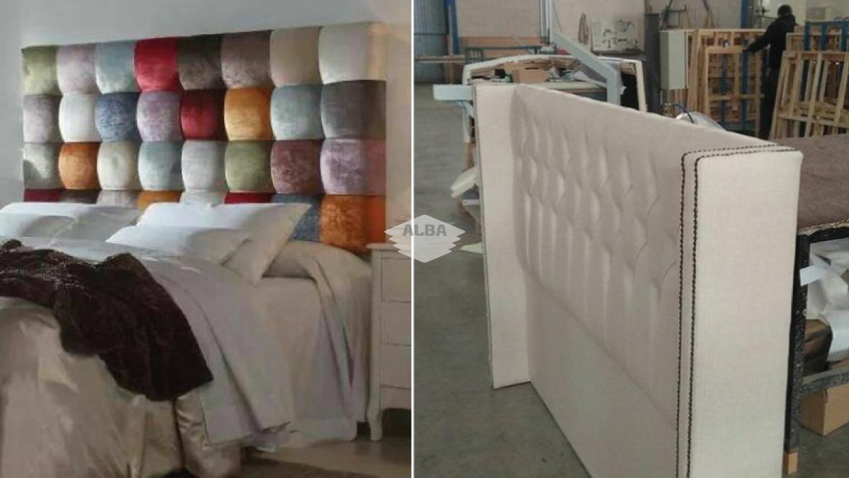 Tapizado de cabeceros de cama latest cabecero cabecero - Cabezal de cama tapizado ...